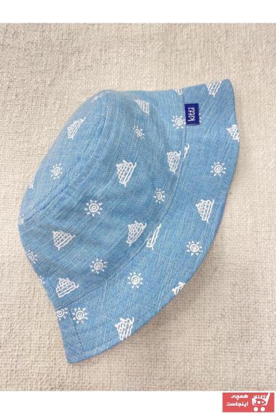 کلاه اورجینال برند Kitti رنگ آبی کد ty97602900