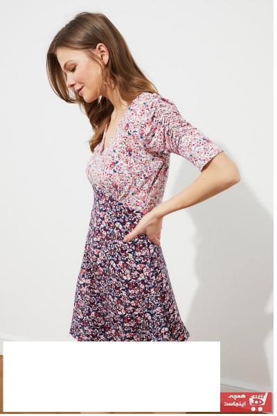 حرید اینترنتی پیراهن زنانه ارزان برند TRENDYOLMİLLA کد ty98396091