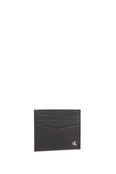 خرید کیف کارت اعتباری مردانه ست برند کلوین کلین رنگ مشکی کد ty98486651