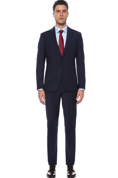 کت شلوار مردانه  برند Network رنگ لاجوردی کد ty98855582