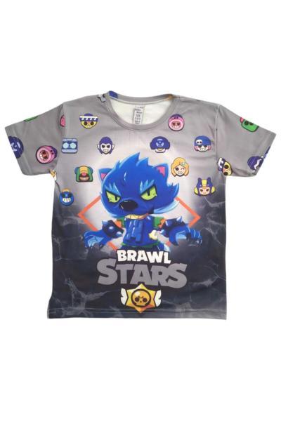 فروشگاه تیشرت بچه گانه تابستانی برند ok çocuk giyim رنگ نقره ای کد ty98873077