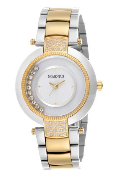 سفارش ساعت مچی زنانه  برند Momentus رنگ نقره کد ty98890081