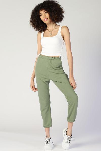 ست اسلش مردانه ترک برند Twister Jeans رنگ سبز کد ty99631965