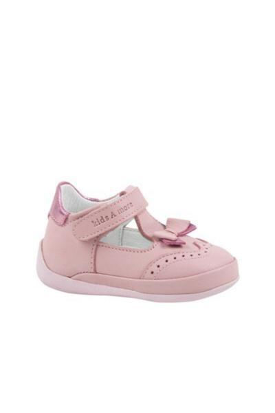 فروش کفش پیاده روی نوزاد پسرانه ترک مجلسی برند kids A more رنگ صورتی ty99738291