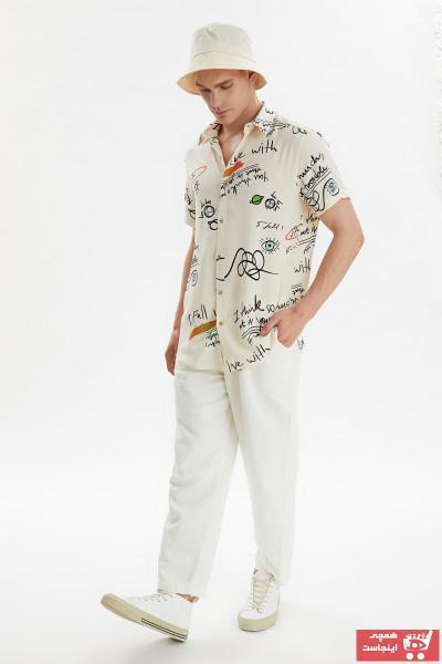 پیراهن جدید مردانه شیک مارک ترندیول مرد رنگ بژ کد ty99829912