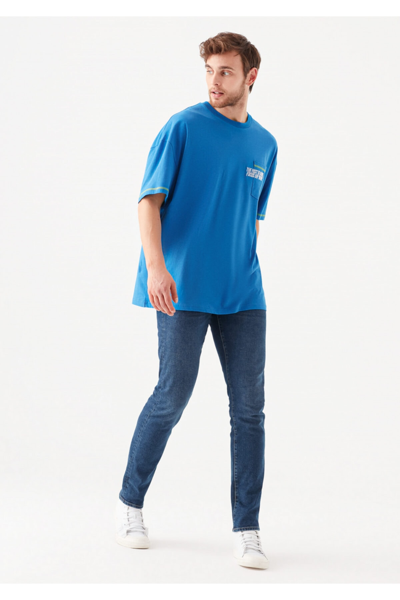 سفارش شلوار جین مردانه ارزان برند ماوی رنگ آبی کد ty99952049