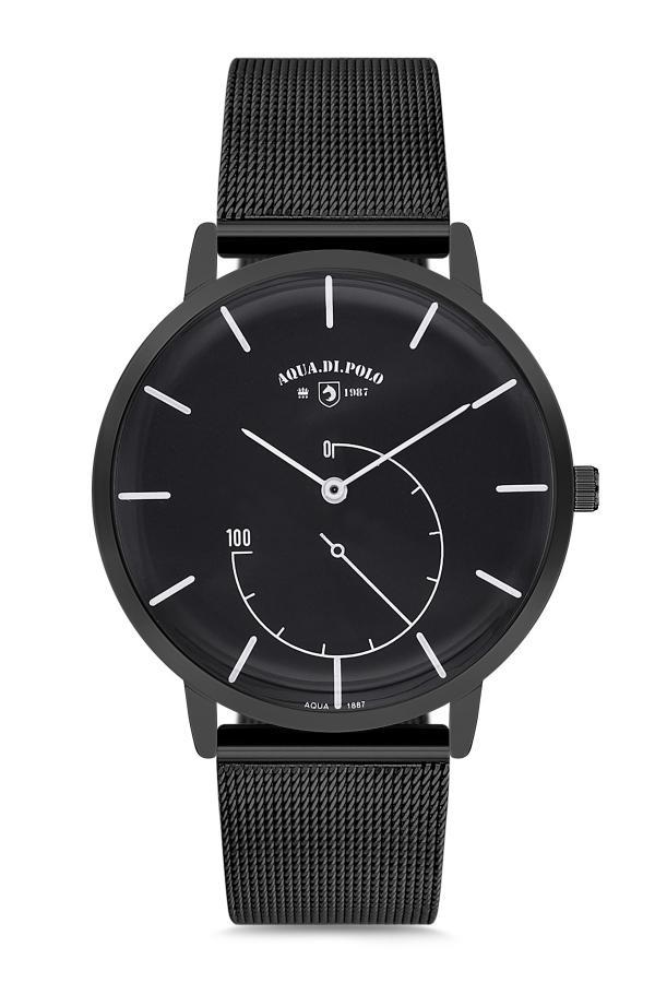 خرید اینترنتی ساعت شیک برند Aqua Di Polo 1987 رنگ مشکی کد ty2395579