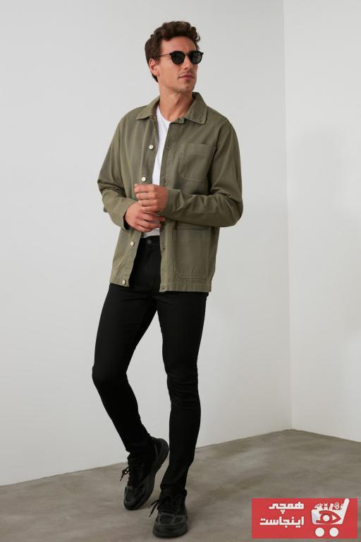 خرید پستی شلوار جین زیبا مارک ترندیول مرد رنگ مشکی کد ty28172509