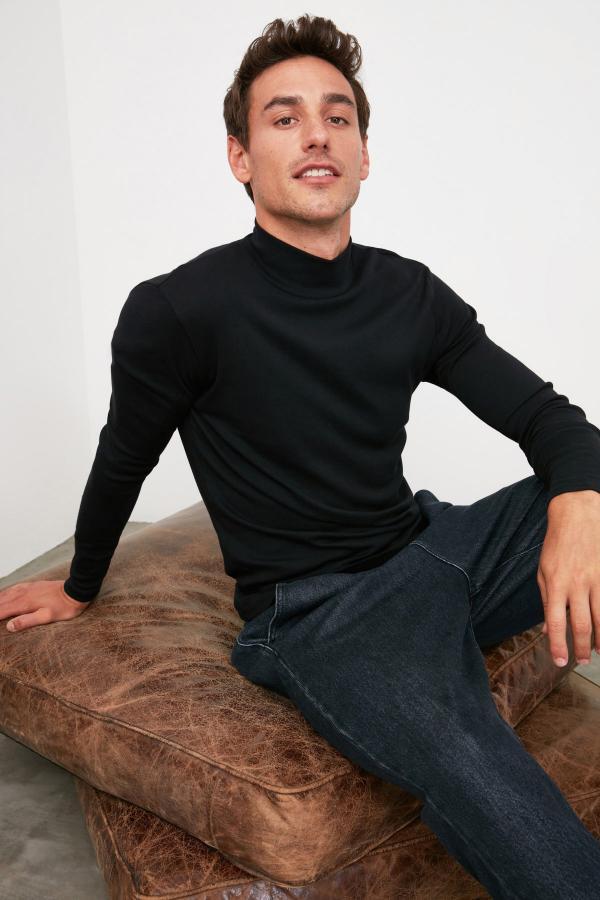 خرید انلاین تی شرت طرح دار برند ترندیول مرد رنگ مشکی کد ty31113192