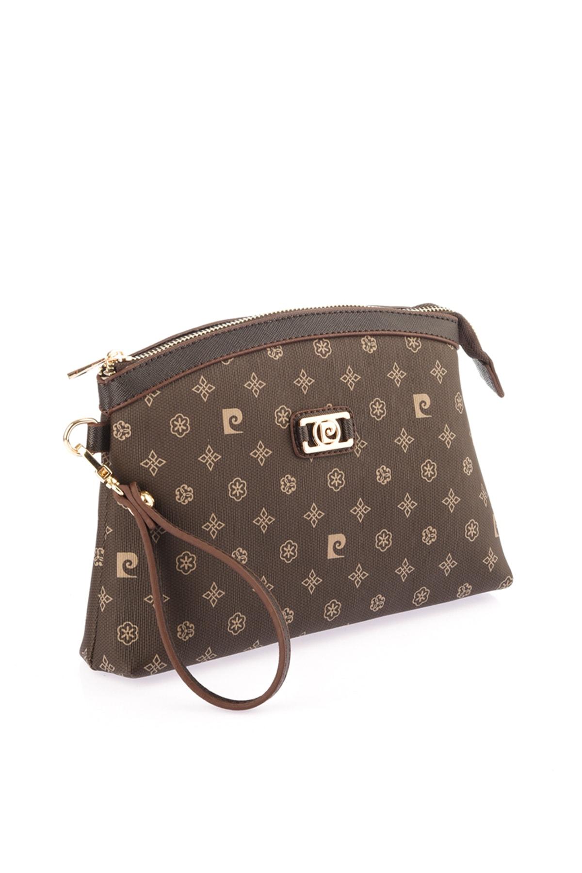 سفارش انلاین کیف دستی زنانه ساده مارک پیرکاردین رنگ قهوه ای کد ty31119821