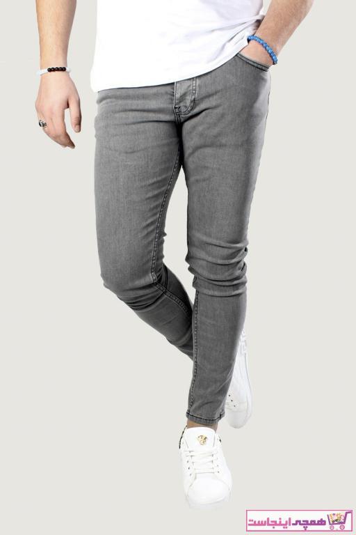 شلوار جین مردانه شیک برند Terapi Men رنگ نقره ای کد ty31544661