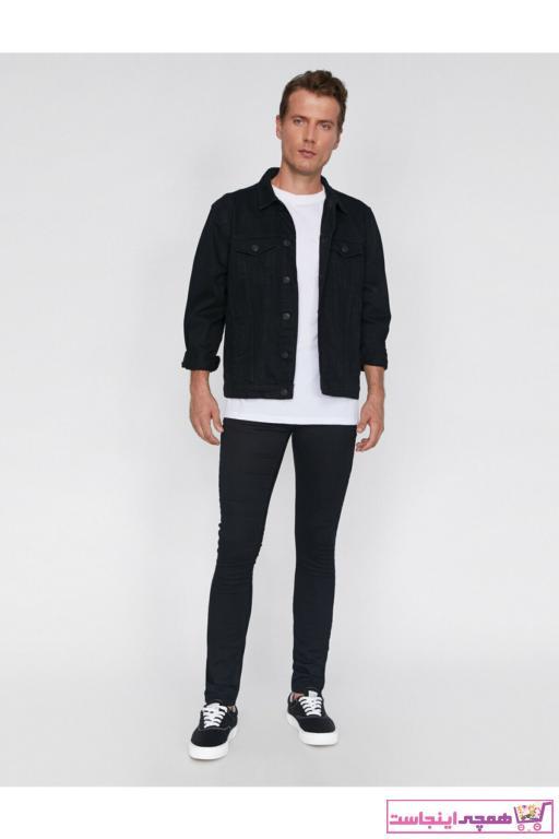 شلوار جین مردانه با قیمت برند کوتون رنگ مشکی کد ty31715195