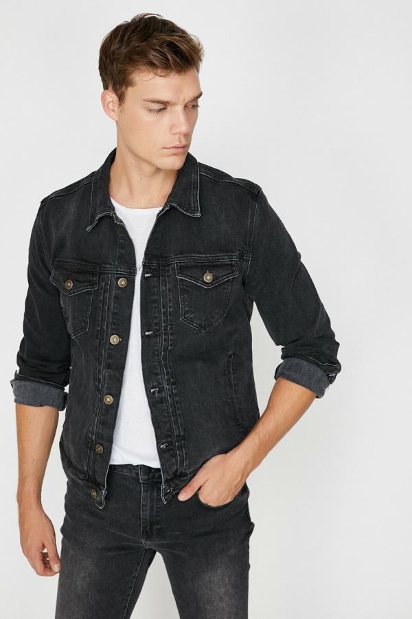 خرید ژاکت غیرحضوری برند کوتون رنگ مشکی کد ty31715805