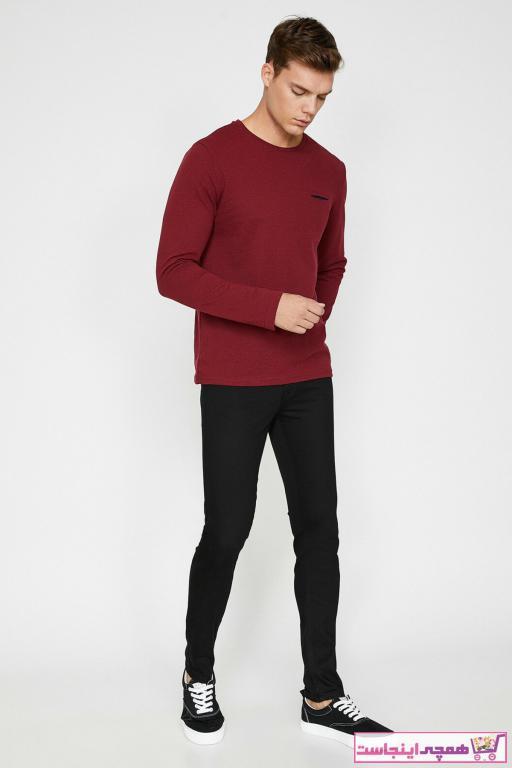 خرید ارزان شلوار جین فانتزی مردانه برند کوتون رنگ مشکی کد ty31716494