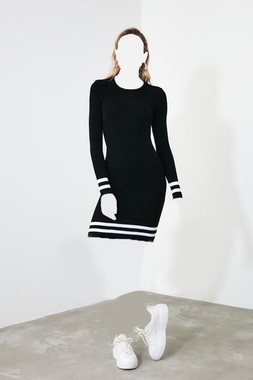 پیراهن زنانه حراجی برند ترندیول میلا رنگ مشکی کد ty32178453