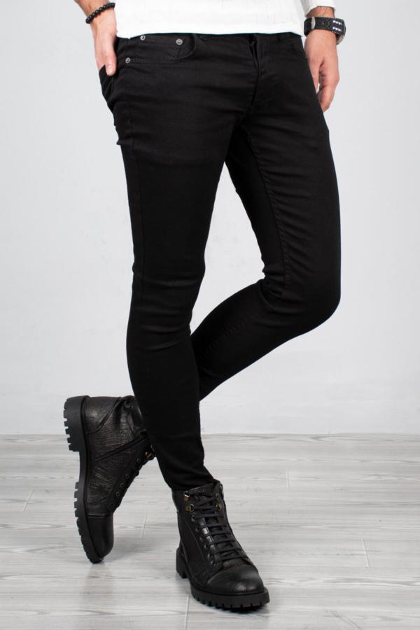 شلوار جین مردانه فانتزی برند دیپسی رنگ مشکی کد ty32579464