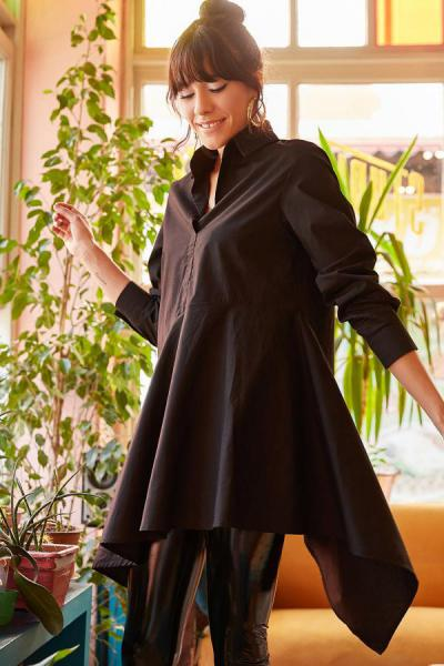 خرید ارزان تونیک فانتزی زنانه برند Olalook رنگ مشکی کد ty32707677