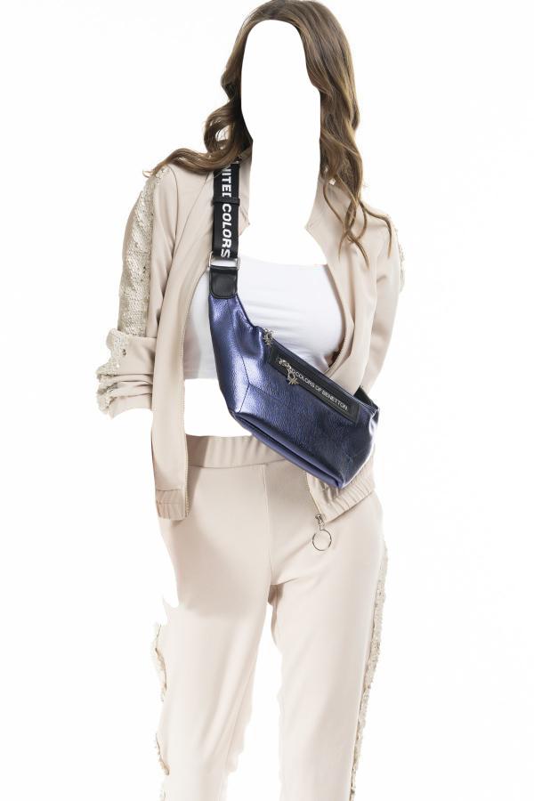 فروش کیف کمری دخترانه برند United Colors of Benetton رنگ لاجوردی کد ty32856935
