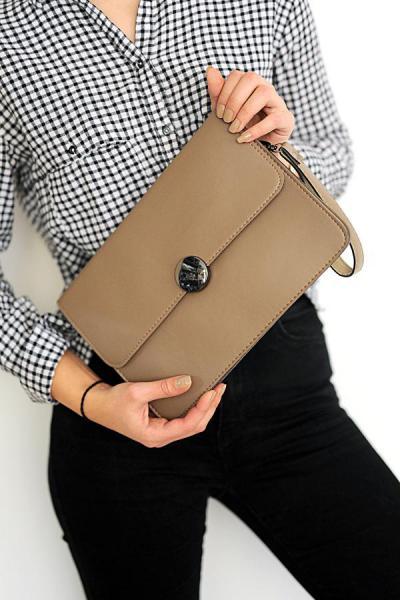 کیف دستی دخترانه اسپرت جدید برند WMİLANO رنگ قهوه ای کد ty32933295