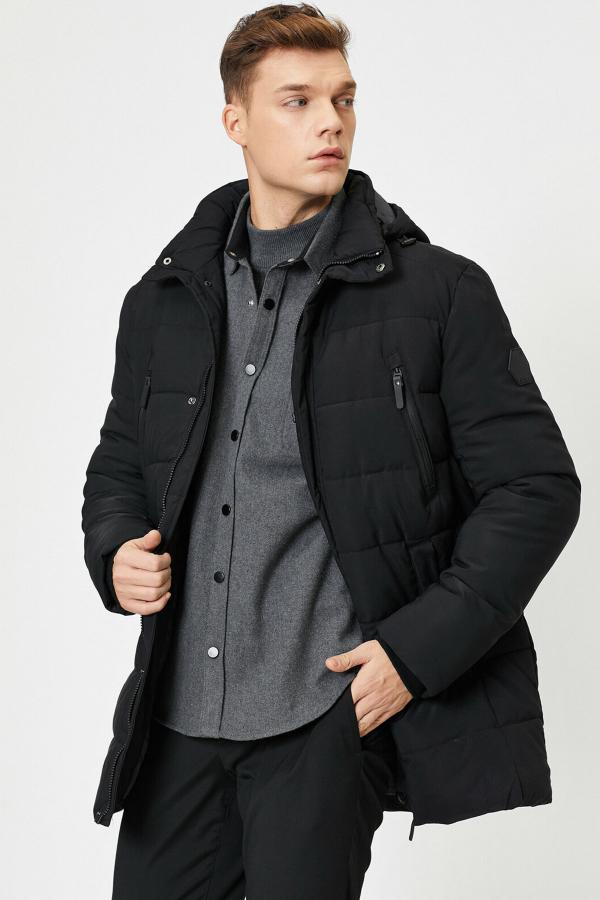 فروش پالتو مردانه حراجی برند کوتون رنگ مشکی کد ty33825738