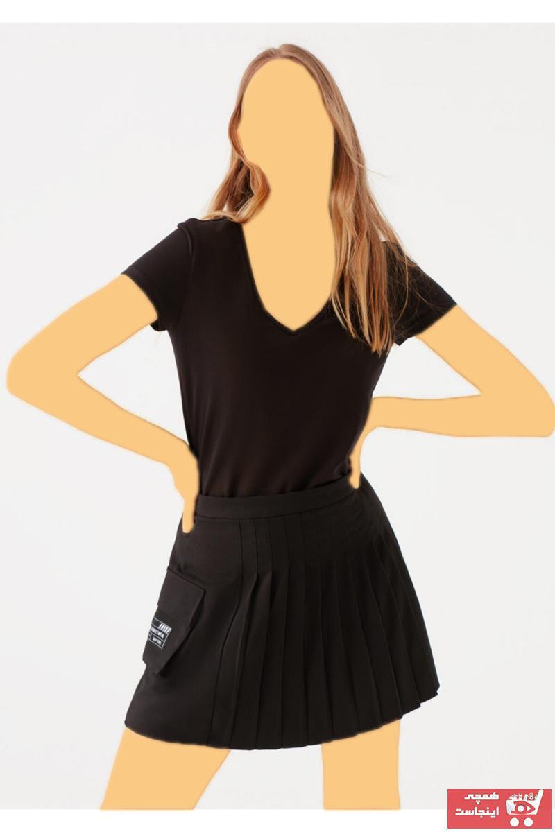 تیشرت زنانه اسپرت جدید برند ماوی رنگ مشکی کد ty3410332