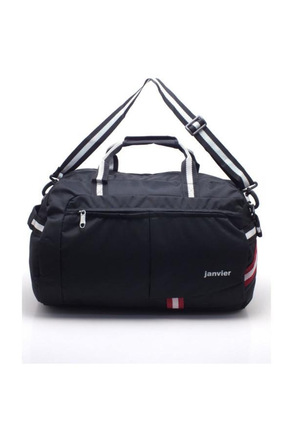 سفارش انلاین کیف ورزشی ساده برند JANVIER رنگ مشکی کد ty34207443