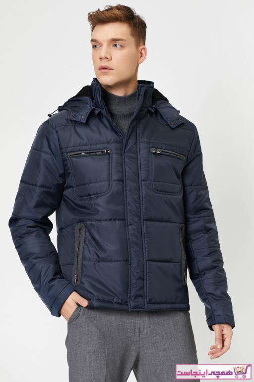 ژاکت مردانه ارزان قیمت برند کوتون رنگ لاجوردی کد ty34231476