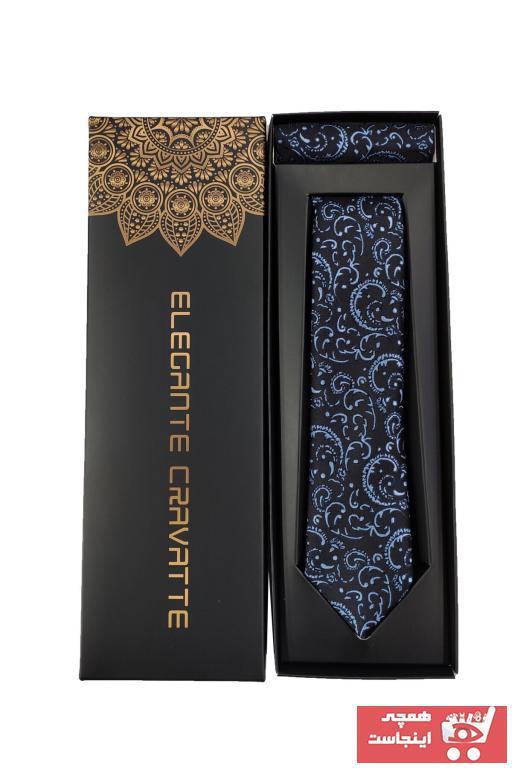 کراوات اورجینال برند Elegante Cravatte رنگ نقره ای کد ty34246422