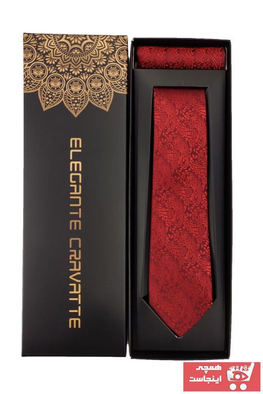 سفارش انلاین کراوات ساده برند Elegante Cravatte رنگ بنفش کد ty34252615