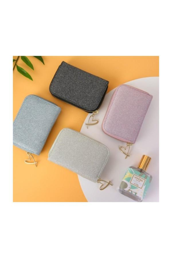 فروشگاه کیف کارت بانکی زنانه برند YOYOSO رنگ نقره ای کد ty34287652