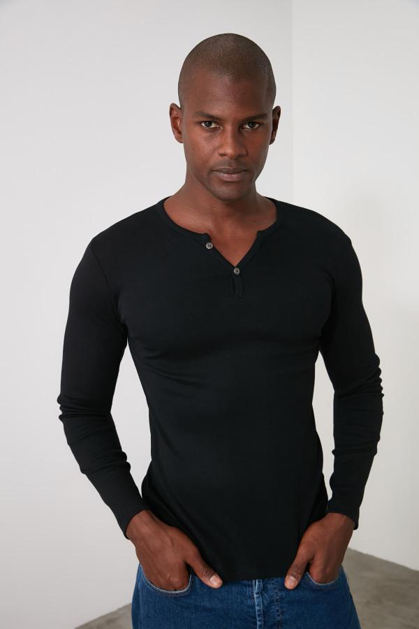 تی شرت خفن مارک ترندیول مرد رنگ مشکی کد ty34333222