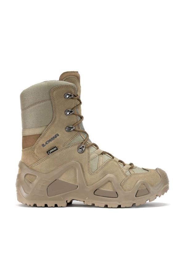 کفش کوهنوردی مردانه نخ پنبه برند Lowa رنگ نارنجی کد ty34496069