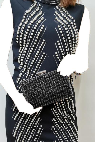 کیف دستی دخترانه ارزان برند NAZART رنگ مشکی کد ty34642861