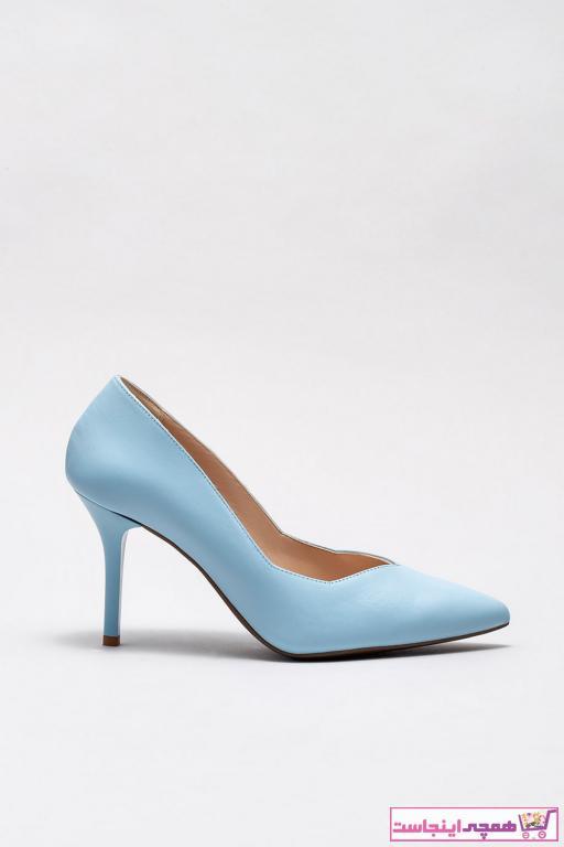خرید اینترنتی پاشنه دار زنانه از استانبول برند Elle Shoes رنگ آبی کد ty34650444