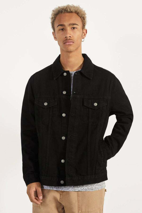 خرید انلاین ژاکت مردانه خاص برند bershka رنگ مشکی کد ty34926230
