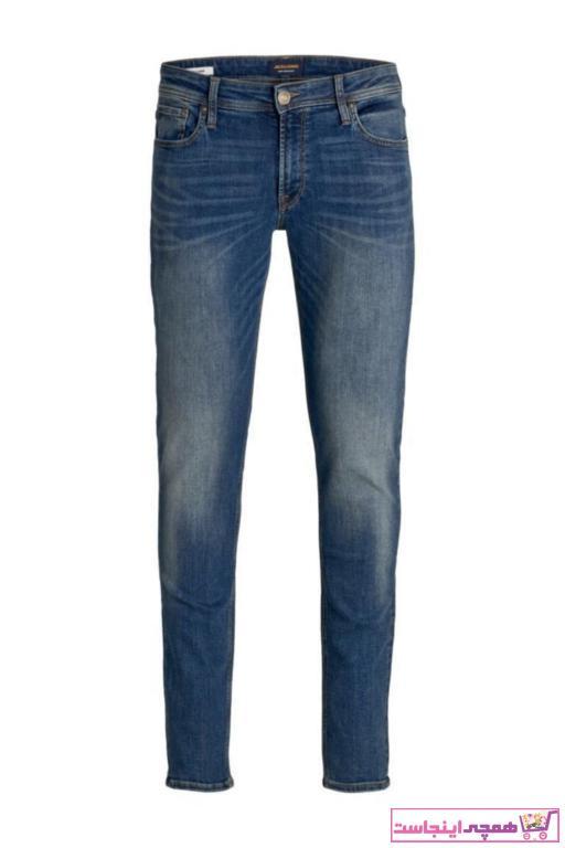 شلوار جین ارزان برند Jack Jones رنگ لاجوردی کد ty35014799