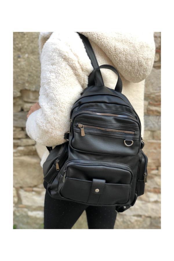 کوله پشتی زنانه برند Lebina رنگ مشکی کد ty35105063
