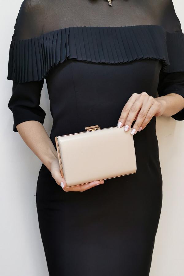 کیف مجلسی زنانه با قیمت برند NAZART رنگ بژ کد ty35159830