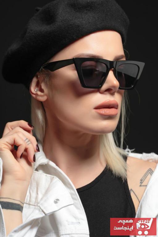 سفارش انلاین عینک آفتابی زنانه ساده برند Polo U.K. رنگ مشکی کد ty35290556