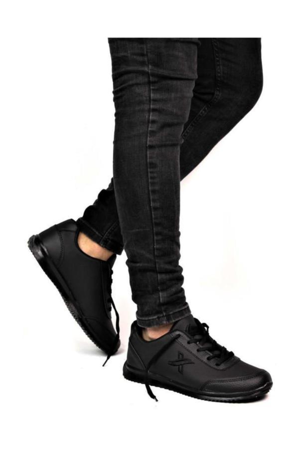 خرید پستی کفش اسپرت مردانه برند Moda Frato رنگ مشکی کد ty35294297