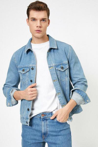 ژاکت زیبا برند کوتون رنگ آبی کد ty35457293
