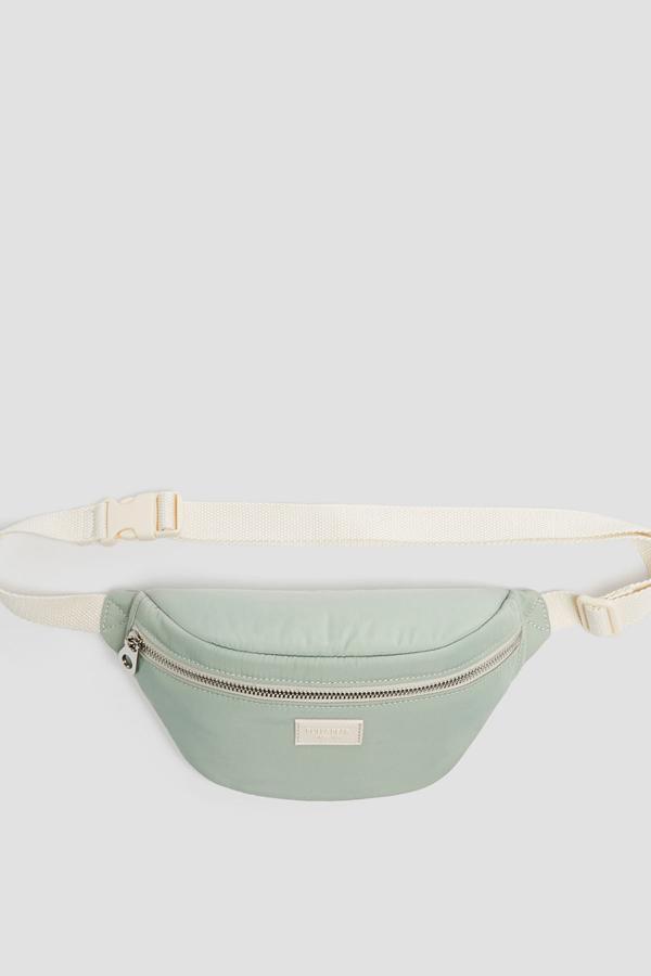 خرید انلاین کیف کمری اورجینال دخترانه برند Pull & Bear رنگ سبز کد ty35488190