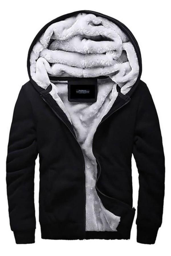 سفارش سویشرت زمستانی مردانه برند مدمکس رنگ مشکی کد ty3565383