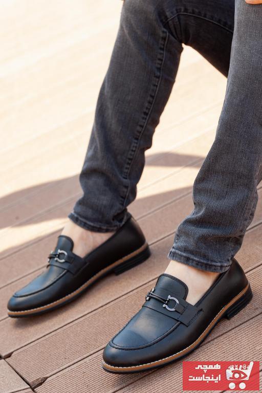 کفش کلاسیک مردانه ترکیه مارک MUGGO رنگ مشکی کد ty35818458