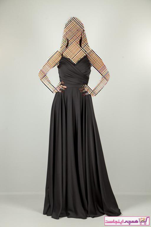 لباس مجلسی زنانه حراجی برند Ardanewline رنگ مشکی کد ty36351780