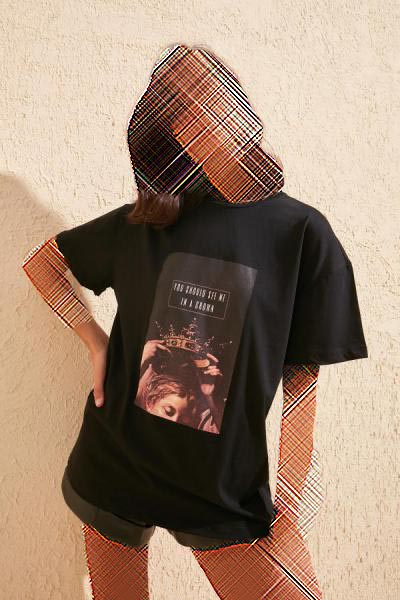 فروشگاه تیشرت اورجینال برند ترندیول میلا ترک رنگ مشکی کد ty36370257