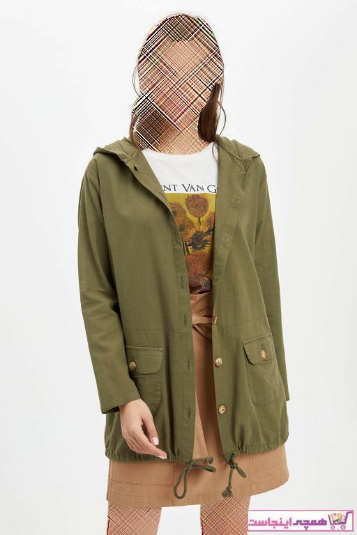 خرید ارزان تونیک فانتزی زنانه برند دفاکتو ترک رنگ سبز کد ty36431831