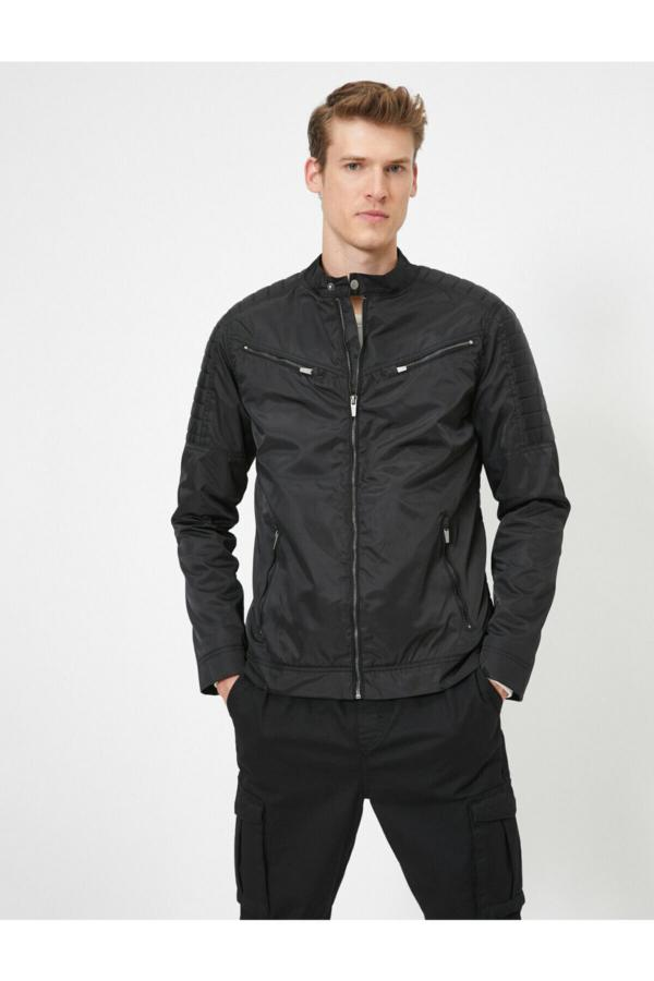 فروش نقدی کاپشن مردانه خاص برند کوتون رنگ مشکی کد ty36903265