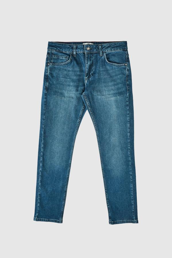 خرید شلوار جین از ترکیه مارک ال سی وایکیکی رنگ نقره ای کد ty36962338