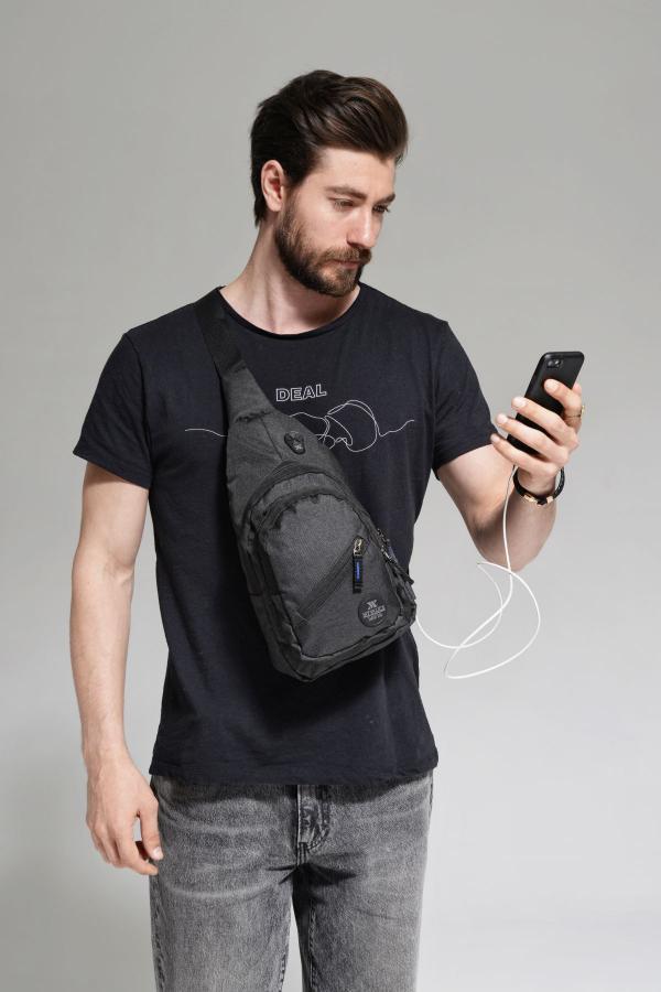 خرید اسان کوله پشتی مردانه زیبا برند My Valice رنگ مشکی کد ty37142568